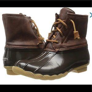 NEW! Sperry Saltwater Duck Boots - SZ 2